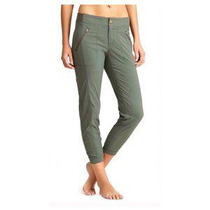 Athleta Trekkie Jogger Pants w/ Zipper Pockets 8
